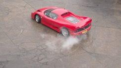 Ferrari F50 Slow Motion Burnouts