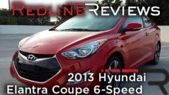 2013 Hyundai Elantra Coupe Car Review