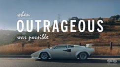 The Outrageous Lamborghini Countach