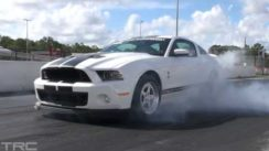 2013 Shelby GT500 Mustang does 9's!