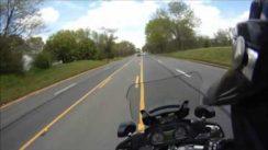 POV Motorcycle Police Pursuit Video