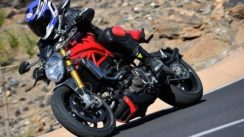 2014 Ducati Monster 1200 S Test Ride Video