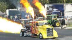 60,000 HP Jet Powered Semi Truck