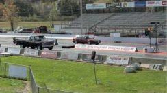 Turbo Saturn SL2 Drag Race