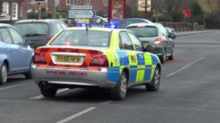 Proton Impian Police Car with Sirens