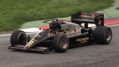 1985 Lotus 97T F1 V6 Turbo Sound & Accelerations