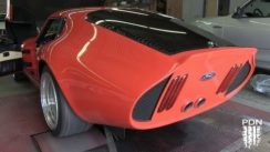 Supercharged Shelby Daytona on Dyno