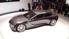 Vauxhall Monza Concept Car at the Frankfurt Motor Show