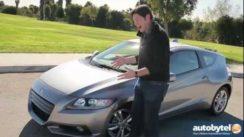 2012 Honda CR-Z Test Drive & Hybrid Car Review