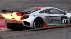 Ultimate Flame Thrower: The McLaren MP4-12C GT3