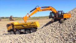Remote Controlled Excavator & Dump Truck