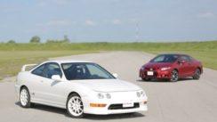 2013 Honda Civic Si vs 1998 Acura Integra Type R