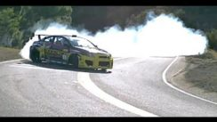 Tanner Foust Drift Mulholland Drive in Scion