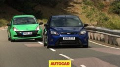 Renaultsport Clio 200 Cup vs Ford Focus RS