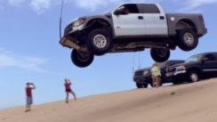 Ford Raptor SVT 6.2 Extreme Jump
