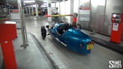 Morgan 3 Wheeler Parking Garage Trick!
