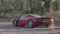 Ferrari Enzo Drifting in Slow Motion