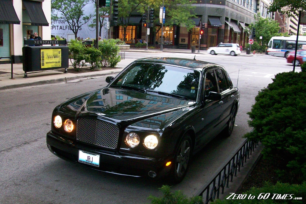 Black Bentley Arnage Red Label Chicago Jpg
