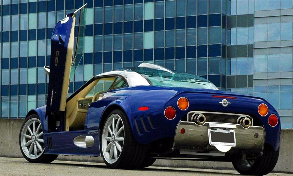 Spyker Car Doors ...