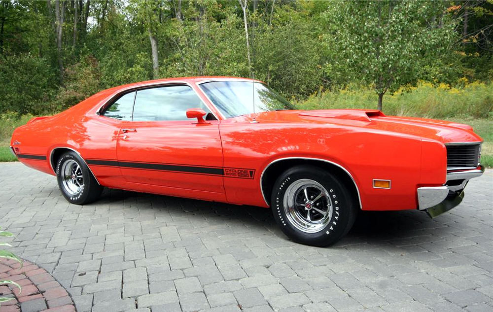 1970 Mercury Cyclone Muscle Car Jpg